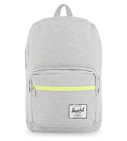 HERSCHEL SUPPLY CO Pop Quiz backpack (Grey+lime