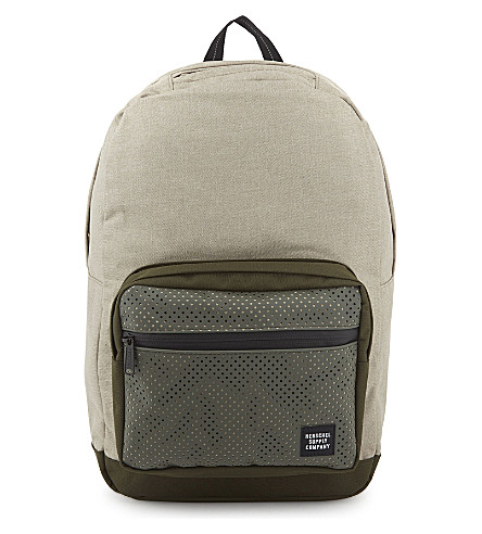 HERSCHEL SUPPLY CO Pop quiz backpack (Light+khaki