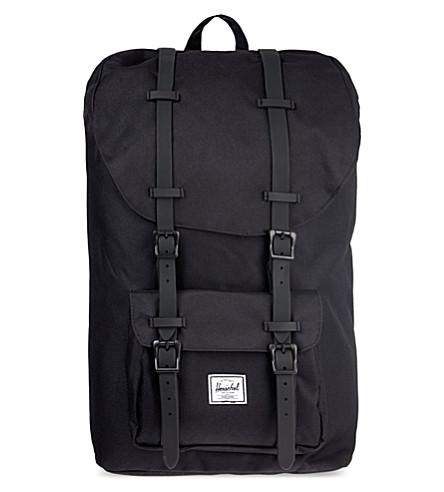 Sale Latest Collections Cheap Amazing Price HERSCHEL SUPPLY CO Little America backpack Black Really Sale Online Free Shipping Limited Edition Get Authentic For Sale SR1amqfkR1
