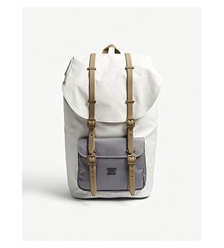 HERSCHEL SUPPLY CO Little America backpack (Silver+shade