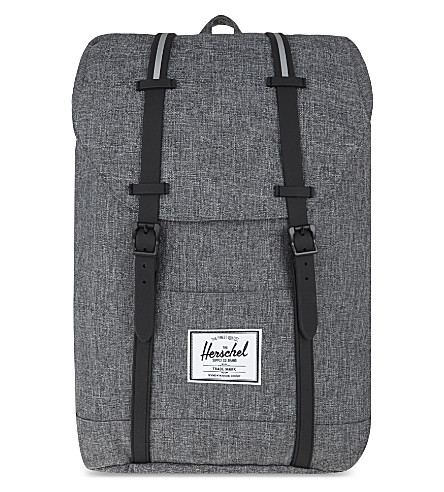 HERSCHEL SUPPLY CO Retreat backpack (Raven+crosshatch+/+black