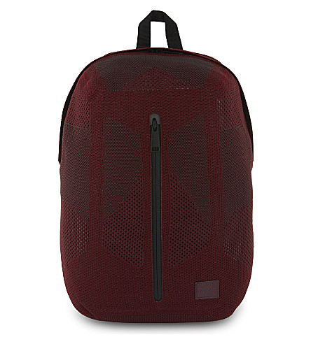 HERSCHEL SUPPLY CO Dayton Apex knit backpack (Tawny+port/forged+iron