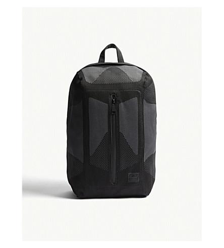 HERSCHEL SUPPLY CO Dayton Apexknit backpack (Black+black