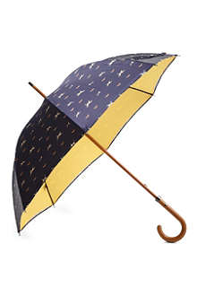 LONDON UNDERCOVER Double-layered dog print umbrella