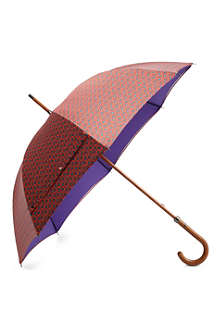 LONDON UNDERCOVER Double-layered paisley umbrella