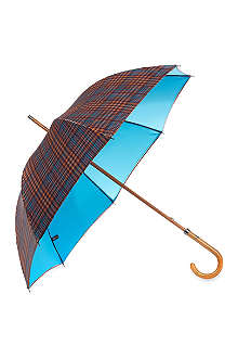 LONDON UNDERCOVER Double layer checked umbrella