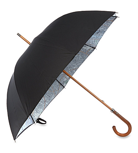 LONDON UNDERCOVER London map umbrella (Black