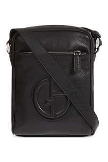 ARMANI Nappa leather reporter