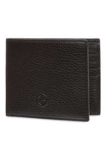 ARMANI Nappa leather logo billfold