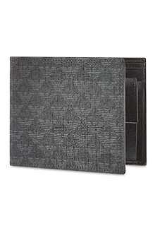 EMPORIO ARMANI All-over logo wallet