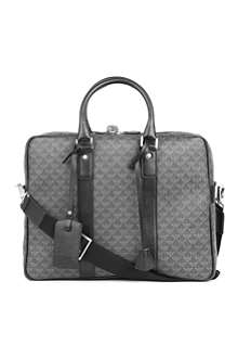EMPORIO ARMANI All-over logo business bag