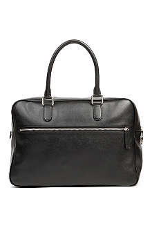 ARMANI Saffiano leather holdall
