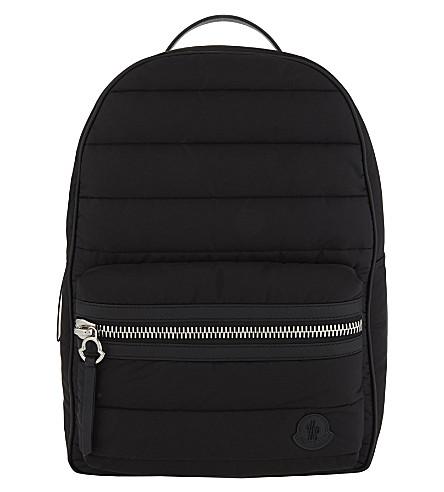 MONCLER George padded nylon backpack (Black