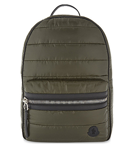 MONCLER George padded backpack (Green