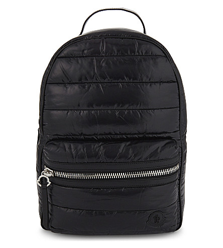 MONCLER Quilted backpack (Black