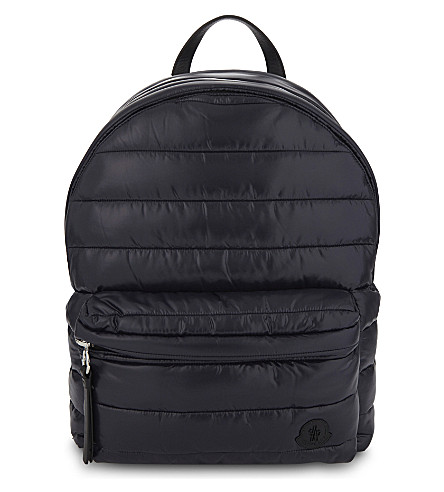 MONCLER Quilted backpack (Navy