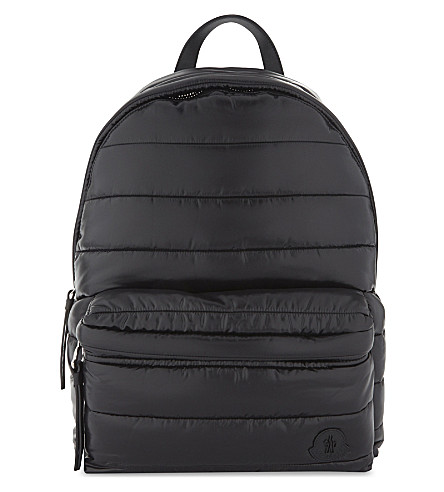 MONCLER New George quilted backpack (Black