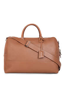 WANT LES ESSENTIELS Douglas leather holdall