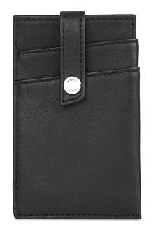 WANT LES ESSENTIELS Kennedy leather money clip wallet