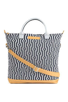 WANT LES ESSENTIELS O'Hare embroidered-canvas tote bag