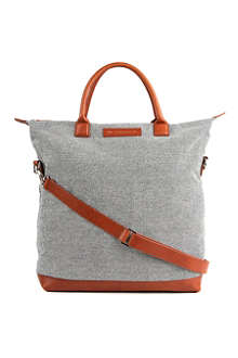 WANT LES ESSENTIELS O'Hare checkerboard-canvas tote bag