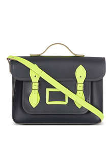 THE CAMBRIDGE SATCHEL COMPANY Fluorescent trim satchel