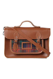 THE CAMBRIDGE SATCHEL COMPANY The Tartan satchel 14
