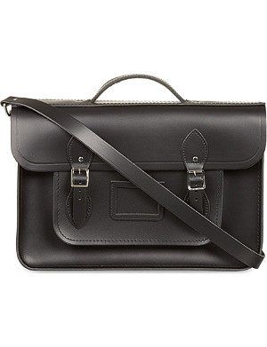 THE CAMBRIDGE SATCHEL COMPANY Classic leather satchel