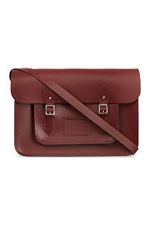 THE CAMBRIDGE SATCHEL COMPANY Leather satchel 15