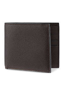 VALEXTRA Leather billfold card wallet