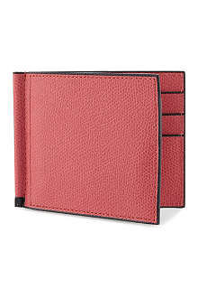VALEXTRA Leather billfold card wallet