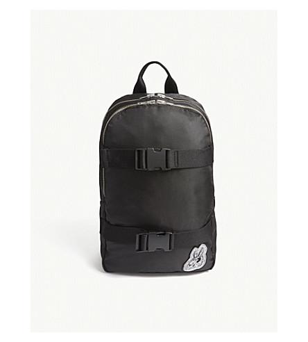 MCQ ALEXANDER MCQUEEN Bunny skater clip backpack (Black