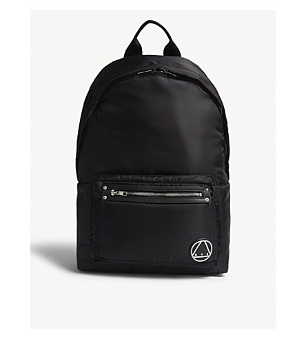 MCQ ALEXANDER MCQUEEN Nylon Loveless backpack (Black