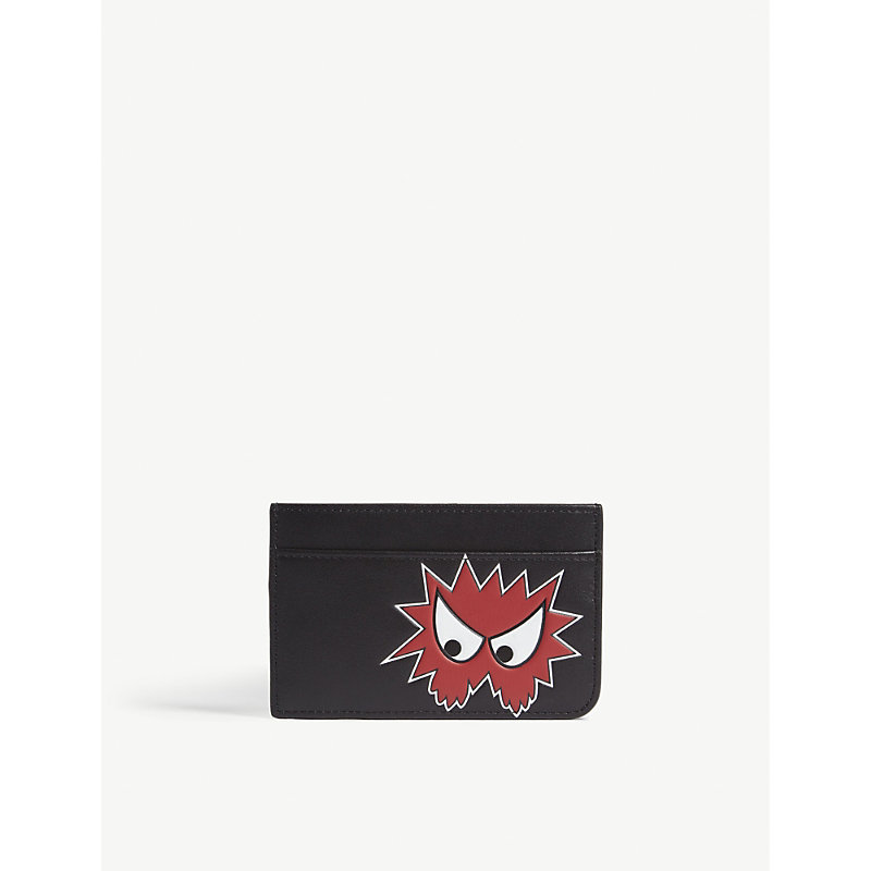 MCQ BY ALEXANDER MCQUEEN Character leather card holder