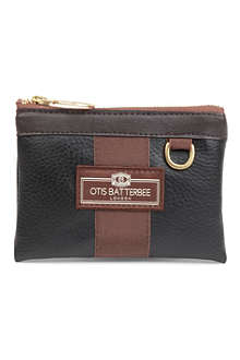 OTIS BATTERBEE Faux-leather coin purse
