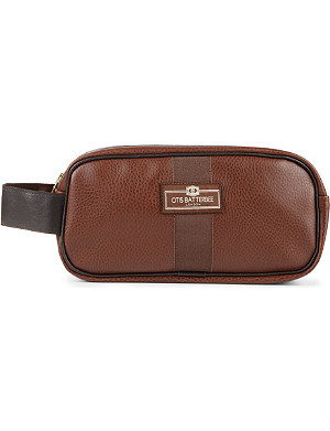 OTIS BATTERBEE LTD Small faux-leather wash bag