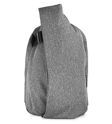 COTE & CIEL Isar canvas backpack (Black+melange