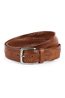 ANDERSONS Perforated-leather belt