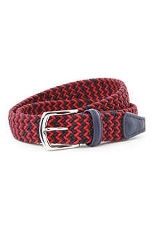 ANDERSONS Multicoloured woven belt