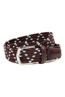 ANDERSONS Multicoloured woven-elastic belt