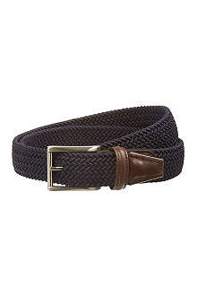 ANDERSONS Plain woven stretch belt