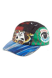 KENZO Urban multi-print cap