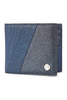 KENZO Grained billfold wallet