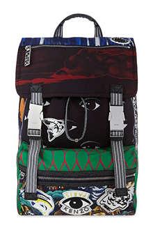 KENZO Urban logo's backpack