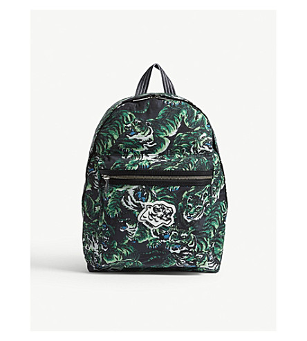 KENZO Flying tiger backpack (Grass+green
