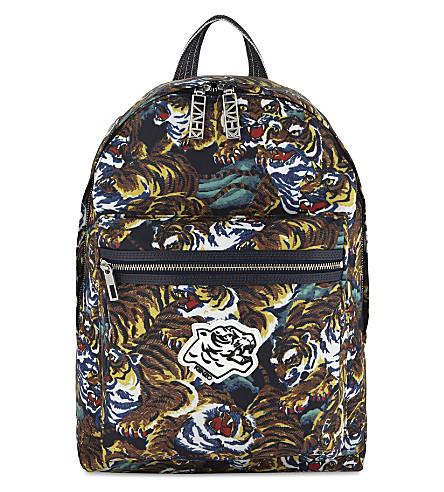KENZO Flying tiger backpack (Multi