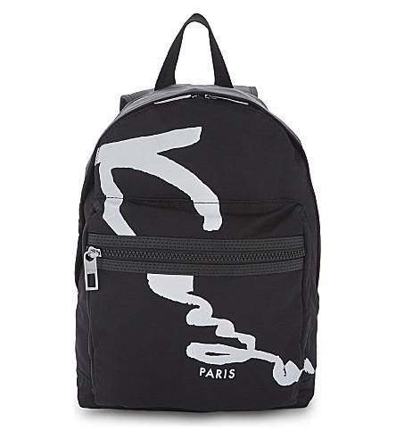 KENZO Signature backpack (Black