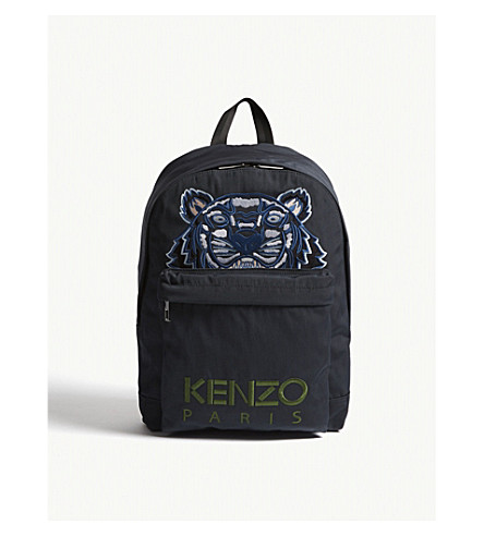 KENZO Tiger medium backpack (Dark+grey