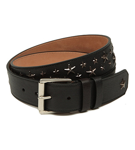 JIMMY CHOO Biker star belt (Black