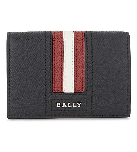 BALLY Tards leather card holder (Black